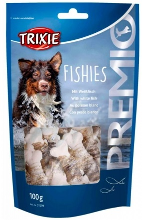 Trixie Premio Fishies – лакомство с рыбой для собак