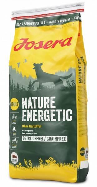 JOSERA NATURE ENERGETIC – сухий корм для дорослих активних собак