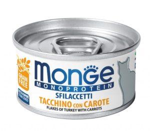Monge Solo Pollo – консерви з індичкою та морковю для дорослих котів