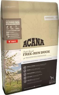 ACANA FREE-RUN DUCK – сухой корм для собак всех пород и всех стадий жизни