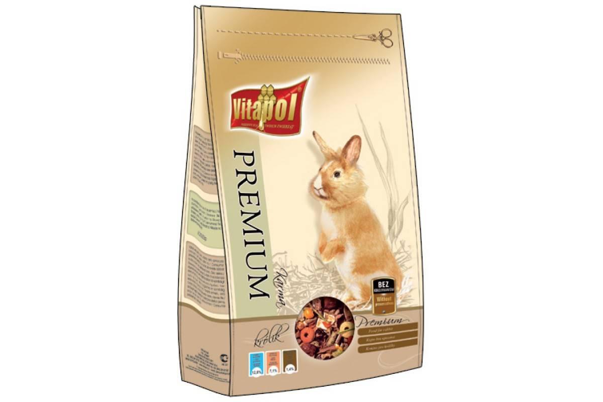 Vitapol Premium корм для кроликов