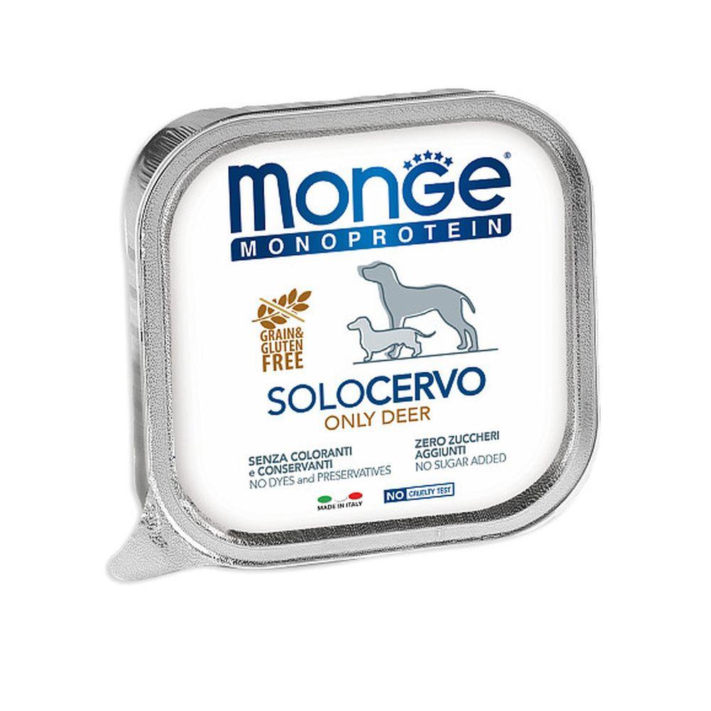 Monge Solo Polo консерви з оленини для собак