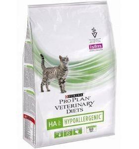PRO PLAN VETERINARY DIETS HA HYPOALLERGENIC FELINE FORMULA – лікувальний сухий корм для кошенят і дорослих котів при алергічних реакціях