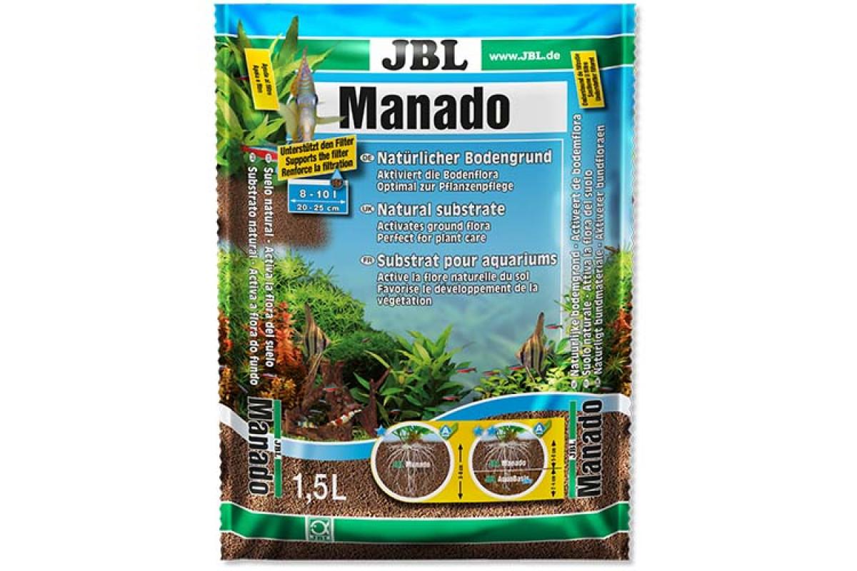 JBL Manado – акваріумний ґрунт-субстрат для рослин