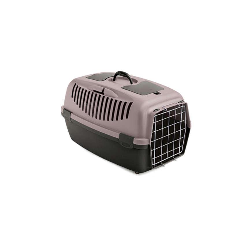 Stefanplast Gulliver 2 переноска з металевими дверима для собак і кішок вагою до 8 кг, 55×36×35 см