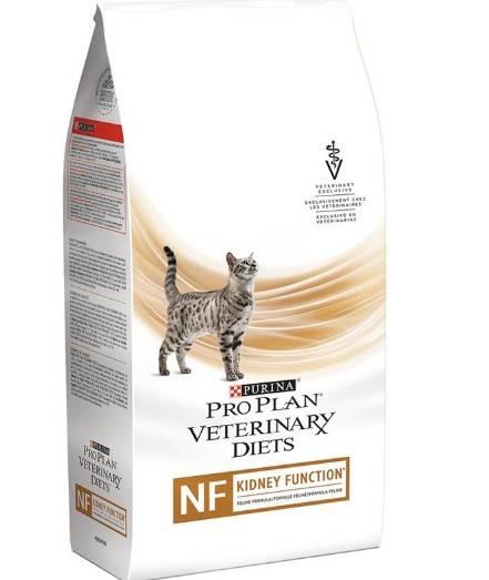 PRO PLAN VETERINARY DIETS NF RENAL FUNCTION FELINE FORMULA лікувальний сухий корм для дорослих котів при захворюваннях нирок