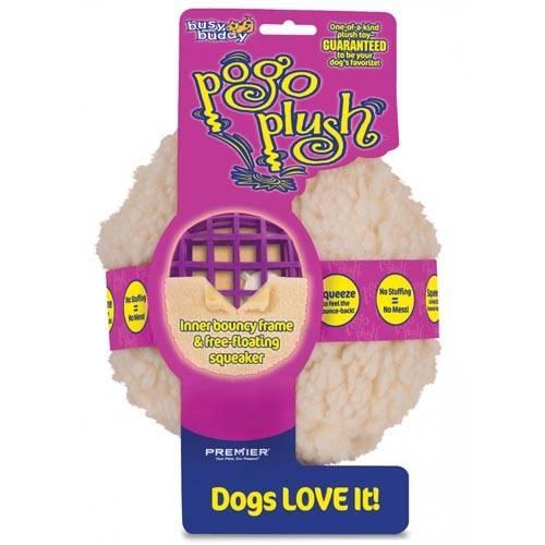 PREMIER POGO PLUSH BALL – плюшева іграшка з м'ячем для собак
