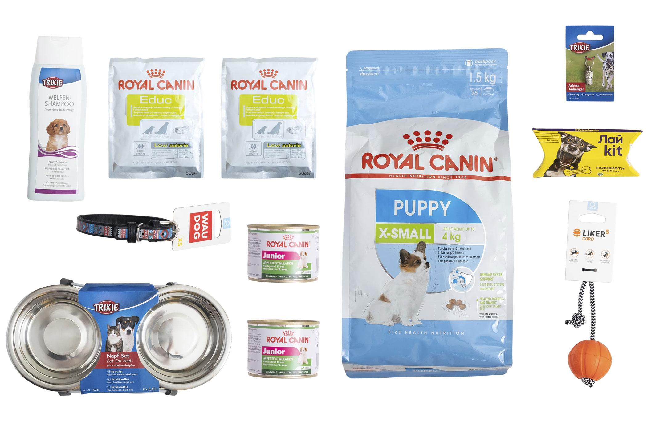 Royal Canin X-Small Puppy – Стартовий набір для цуценят мініатюрних порід