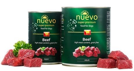 Nuevo Adult Beef – консерви з яловичиною для дорослих собак
