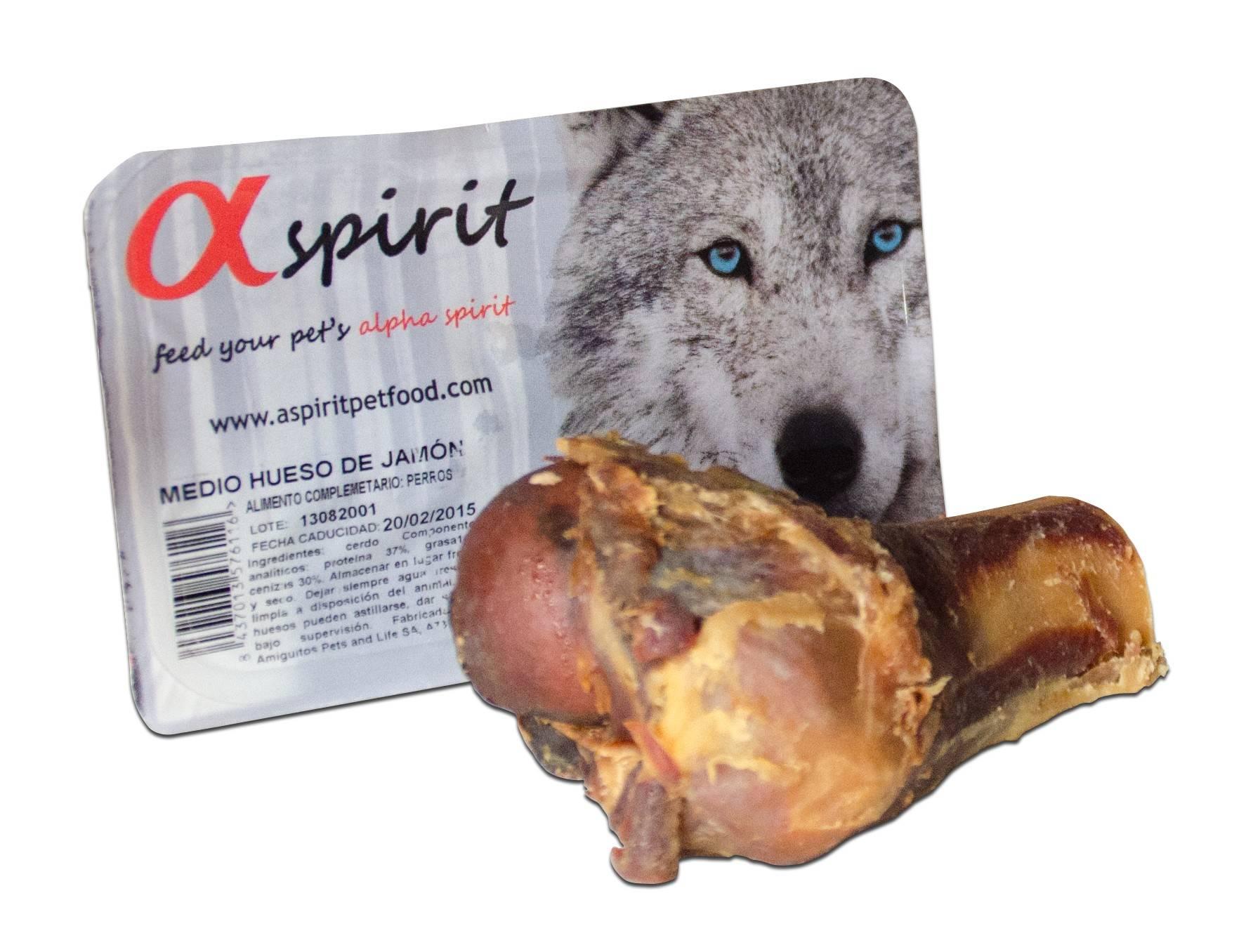 ALPHA SPIRIT HAM BONE HALF – сахарная кость для собак