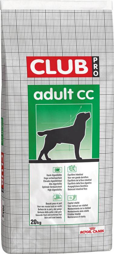 ROYAL CANIN CLUB ADULT CC – сухой корм для взрослых собак всех пород