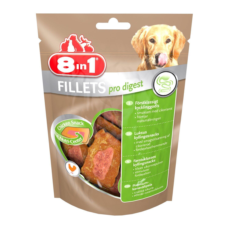 8in1 Fillets Pro Digest S – ласощі для собак для поліпшення травлення